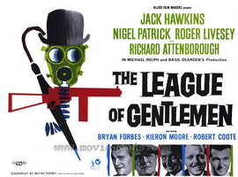 The League of Gentlemen - 27 x 40 Movie Poster - Style B