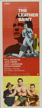The Leather Saint - 14 x 36 Movie Poster - Insert Style A