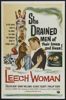 The Leech Woman - 27 x 40 Movie Poster - Style A
