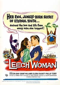 The Leech Woman - 11 x 17 Movie Poster - Style B