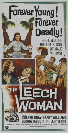 The Leech Woman - 11 x 17 Movie Poster - Style D
