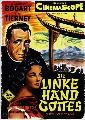 The Left Hand of God - 27 x 40 Movie Poster - German Style A