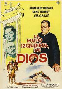 The Left Hand of God - 11 x 17 Movie Poster - Spanish Style A