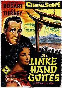 The Left Hand of God - 11 x 17 Movie Poster - German Style A