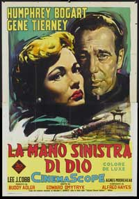 The Left Hand of God - 11 x 17 Movie Poster - Italian Style A