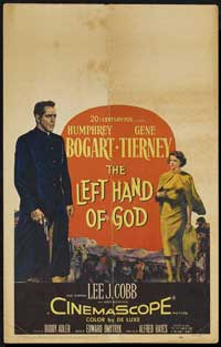 The Left Hand of God - 14 x 22 Movie Poster - Window Card