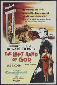 The Left Hand of God - 27 x 40 Movie Poster - UK Style A