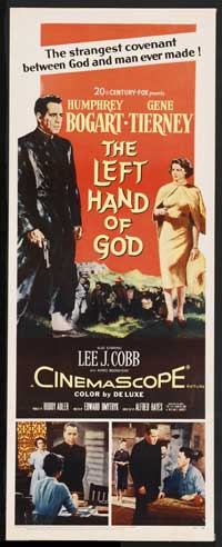 The Left Hand of God - 14 x 36 Movie Poster - Insert Style A