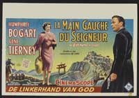 The Left Hand of God - 14 x 22 Movie Poster - Belgian Style A