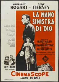 The Left Hand of God - 27 x 40 Movie Poster - Italian Style A