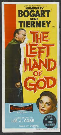 The Left Hand of God - 13 x 30 Movie Poster - Australian Style A