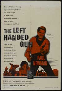 The Left-Handed Gun - 27 x 40 Movie Poster - Style A