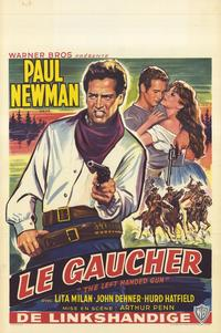 The Left-Handed Gun - 11 x 17 Movie Poster - Belgian Style A