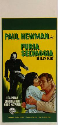 The Left-Handed Gun - 20 x 40 Movie Poster - Italian Style A