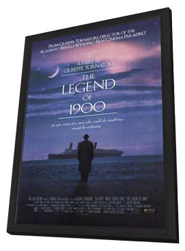 The Legend of 1900 - 11 x 17 Movie Poster - Style A - in Deluxe Wood Frame