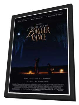 The Legend of Bagger Vance - 27 x 40 Movie Poster - Style A - in Deluxe Wood Frame