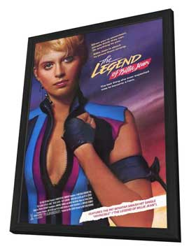 The Legend of Billie Jean - 27 x 40 Movie Poster - Style A - in Deluxe Wood Frame