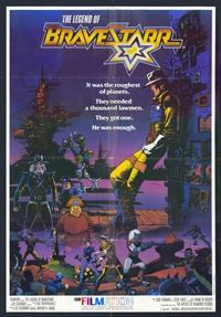 The Legend of BraveStarr - 11 x 17 Movie Poster - Style A