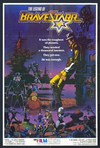 The Legend of BraveStarr - 27 x 40 Movie Poster - Style A