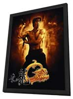 The Legend of Bruce Lee (TV) - 11 x 17 Movie Poster - Chinese Style B - in Deluxe Wood Frame