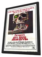 The Legend of Hell House - 27 x 40 Movie Poster - Style A - in Deluxe Wood Frame