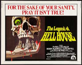 The Legend of Hell House - 22 x 28 Movie Poster - Half Sheet Style A