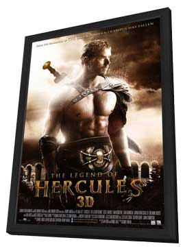 The Legend of Hercules - 11 x 17 Movie Poster - Dutch Style A - in Deluxe Wood Frame