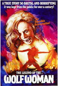 The Legend of the Wolf Woman - 27 x 40 Movie Poster - Style A