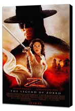 The Legend of Zorro - 27 x 40 Movie Poster - Style D - Museum Wrapped Canvas