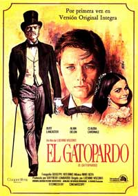The Leopard - 11 x 17 Movie Poster - Spanish Style A