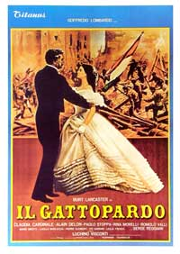 The Leopard - 11 x 17 Movie Poster - Italian Style B
