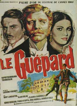 The Leopard - 11 x 17 Movie Poster - French Style D