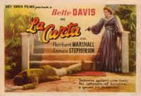 The Letter - 27 x 40 Movie Poster - Spanish Style C