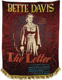 The Letter - 43 x 62 Movie Poster - Bus Shelter Style B
