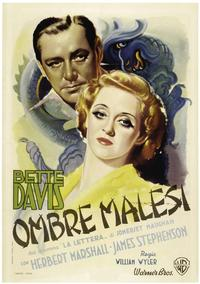 The Letter - 27 x 40 Movie Poster - Italian Style A