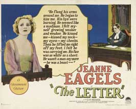 The Letter - 11 x 14 Movie Poster - Style A