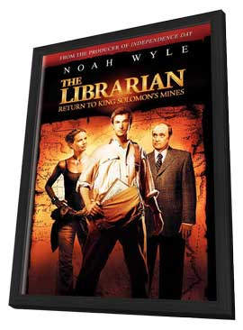 The Librarian - 11 x 17 Movie Poster - Style A - in Deluxe Wood Frame