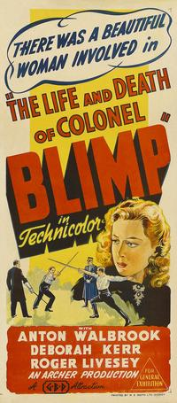 The Life and Death of Colonel Blimp - 14 x 36 Movie Poster - Australian Style A