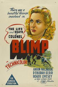 The Life and Death of Colonel Blimp - 43 x 62 Movie Poster - Australian Style A