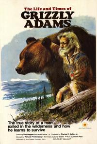 The Life & Times of Grizzly Adams - 27 x 40 Movie Poster - Style A