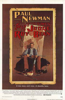 The Life & Times of Judge Roy Bean - 11 x 17 Movie Poster - Style A