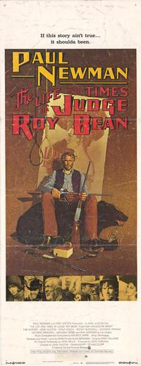 The Life & Times of Judge Roy Bean - 14 x 36 Movie Poster - Insert Style A