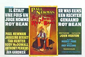 The Life & Times of Judge Roy Bean - 11 x 17 Movie Poster - Belgian Style A