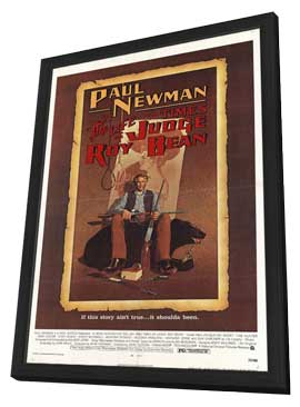 The Life & Times of Judge Roy Bean - 11 x 17 Movie Poster - Style A - in Deluxe Wood Frame