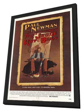 The Life & Times of Judge Roy Bean - 27 x 40 Movie Poster - Style A - in Deluxe Wood Frame