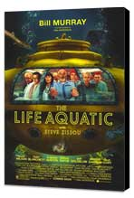 The Life Aquatic with Steve Zissou - 11 x 17 Movie Poster - Style A - Museum Wrapped Canvas