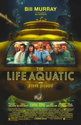 The Life Aquatic with Steve Zissou - 11 x 17 Movie Poster - Style A