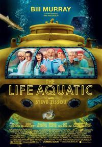 The Life Aquatic with Steve Zissou - 43 x 62 Movie Poster - Bus Shelter Style A