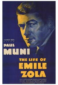 The Life of Emile Zola - 27 x 40 Movie Poster - Style A
