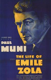 The Life of Emile Zola - 43 x 62 Movie Poster - Bus Shelter Style A